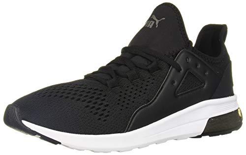 PUMA Electron Street Sneaker, Black Black-Castlerock, 9 M US