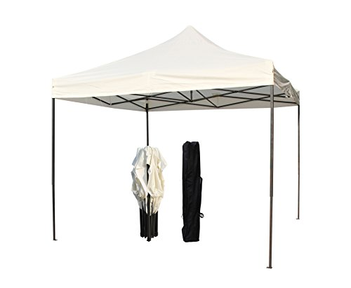 All Seasons Gazebos 2.5 x 2.5m Heavy Duty, Fully Waterproof Pop up Gazebo (Cream)