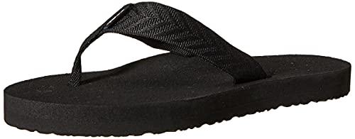 Teva Women's Mush II Flip Flop,Fronds Black,7 M US
