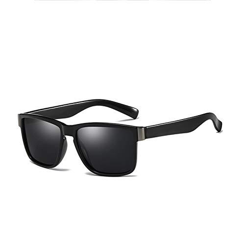 WWDKF Gafas De Sol, Gafas De Sol Polarizadas De Resina De Película Verdadera, Resistencia Al Impacto, Antirreflejos, Protección UV400, Fácil De Limpiar, Experiencia De Alta Definición,A