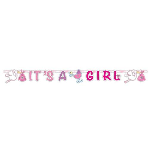 Folat NEU Girlande Buchstaben It's a Girl, XL