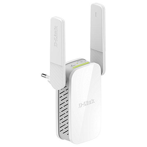 D-Link DAP-1610 Range Extender Ripetitore Wi-Fi AC1200 Dual Band, 1200 Mbps,1 Porta LAN, Fast Ethernet, Compatibilità Universale