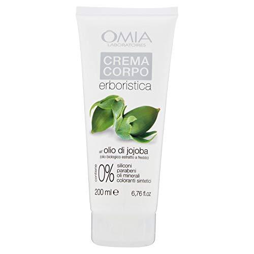 Omia Crema Corpo Erboristica Con Olio di Jojoba, Crema Emolliente...