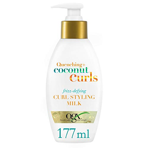 OGX Coconut Milk Curling Cream voor krullend haar, 177 ml