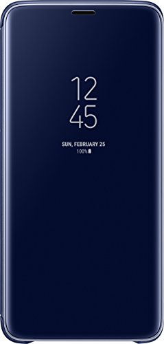 Samsung EF-ZG965CLEGWW Clear View - Custodia protettiva per Galaxy S9+, Blu