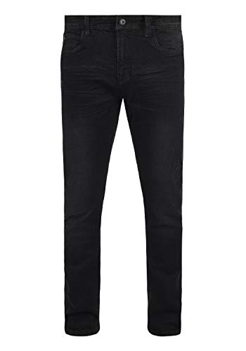 Indicode Aldersgate - Pantalones Vaqueros para Hombre, tamaño:W32/32, Color:Black (999)