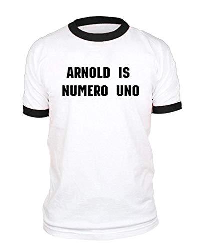 Arnold is Numero UNO – Levantamiento de pesas – Camiseta de algodón I5. S