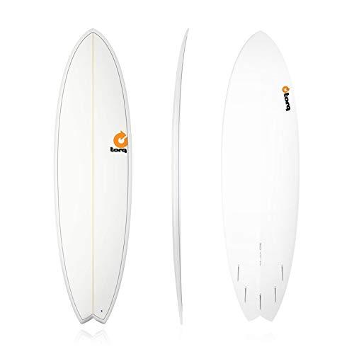 Tabla de surf epoxi Torq 6.10 Fish Pinlines