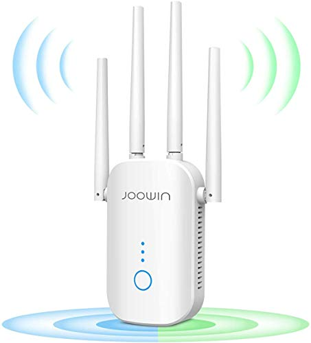 JOOWIN WiFi Repetidor 1200Mbps 2.4 GHz y 5GHz Amplificador de Señal de...