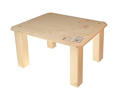 Resch Nr39 Unterstand XL naturbelassenes Massivholz aus Fichte/Perfekt für Kaninchen oder Meerschweinchen zum Verstecken / 41x31x25cm (LxBxH)