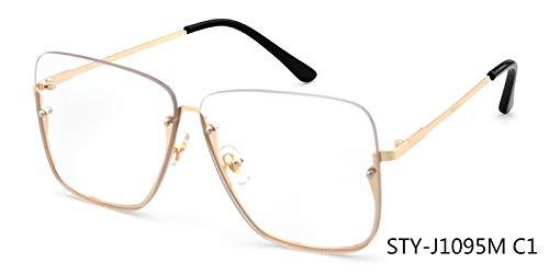 DXXHMJY Sonnenbrillen Sonnenbrillen Classic Uv400 Brillenbeschichtung Mirrored Eyewear Shades Personalisierte High-End-SonnenbrilleC1