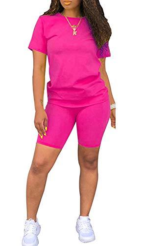 Angsuttc Womens Casual 2 Piece Outfit Long Sleeve Zipper Up Jacket+Mini Skirt Set