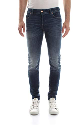 Diesel SLEENKER JEANS Uomo DENIM MEDIUM BLUE 30 L32
