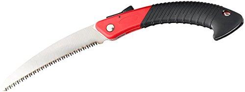 Scie AGT :Scie pliante manuelle WKS-180 - En acier au carbone avec denture trapézoïdale - 180 mm (scie manuelle)