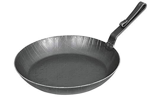 Schmiedeeiserne Pfanne, 28 cm, Hakenstiel-Pfanne