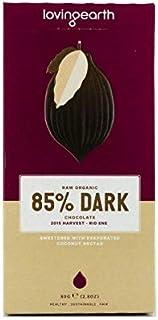 Loving Earth 85% Dark Chocolate 80 g