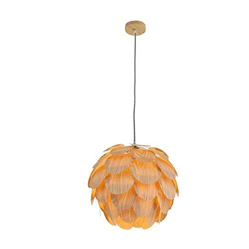 Steinhauer Finn Lámpara de techo Madera 38 cm de ancho Regulable