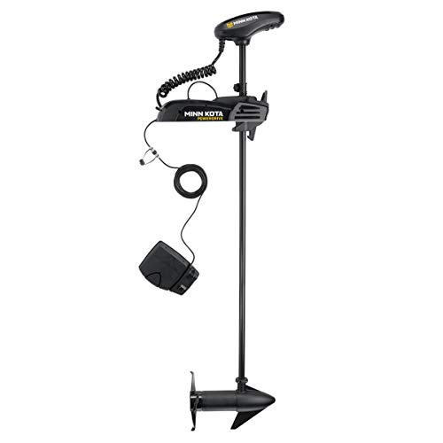 Minn Kota Powerdrive Trolling Motor with Bluetooth (70-lb Thrust, 60' Shaft), Black