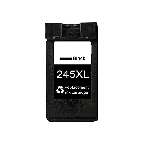HYYH Cartucho de tóner compatible con Canon 245 XL 246XL para impresoras Canon Pixma IP2820, IP2850, MG2420, MG2450, MG2520 y MG2550, impresión estable, color negro