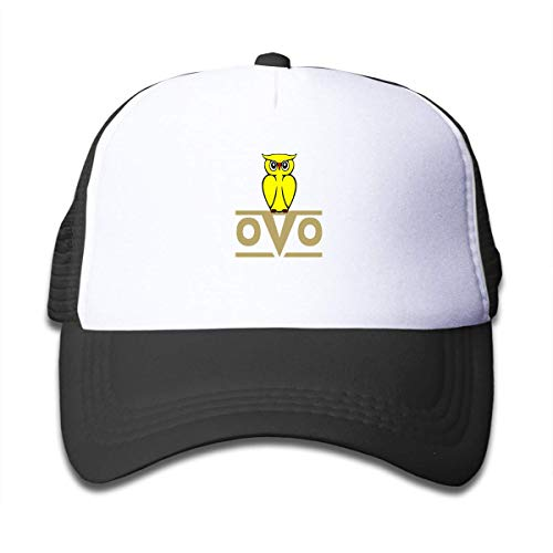 Funny Club OVO Owl Children's Adjustable Mesh Hats Baseball Trucker Cap for Boys and Girls