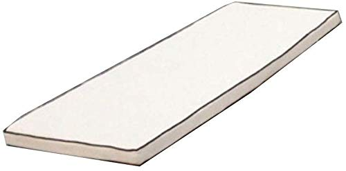 BYBTT Indoor Outdoor Confortable Schaukel Bank Kissen Veranda Wicker Kissen Pad-Grau 70x30cm(28x12inch)