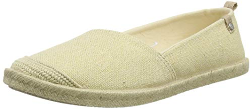 Roxy Damen FLORA Espadrilles, Beige (Wheat We9), 41 EU
