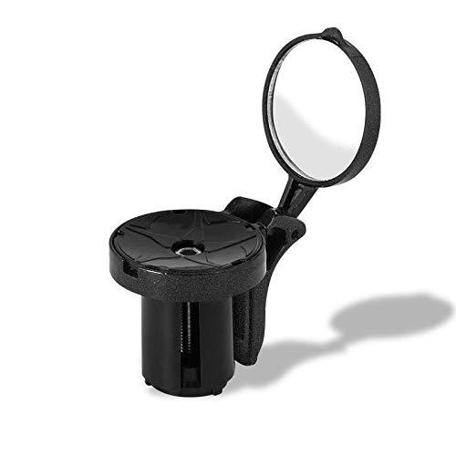 Zjcpow Espejos De Bicicleta Rotación De 360 ??° Espejo De Bicicleta De Ciclismo Espejo De Manillar De Bicicleta De Seguridad Reflectante Espejo Retrovisor Más