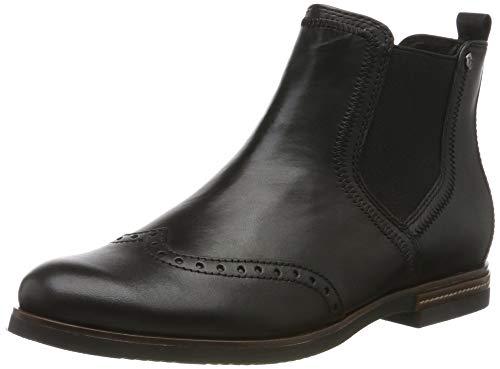 Tamaris 1 1 25027 23, Women's Chelsea Boots Chelsea Boots, Black (BLACK 1), 5.5 UK (39 EU)