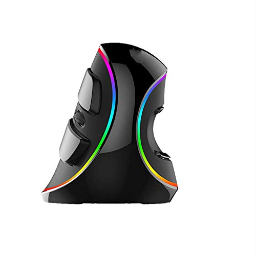 N / A Vertical Mouse, Snail-Shaped Bionic Feel, USB Interface, Ergonomic Design, Non-Slip and Sweat-Proof, Skin-Like Material, Comfortable Grip