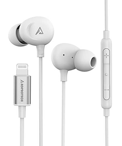 iPhone Earbuds for iPhone Headphones MFi Certified Compatible for iPhone with Microphone Volume Control for iPhone 13/12/ 11/Pro Max/Xr/Xs...