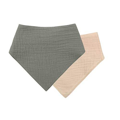 ZZALLL Babero de algodón para bebé Born Triangle Bufanda Toalla de alimentación de Saliva Bandana Burp Cloth - S001#