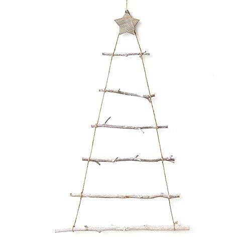 HTYG Escalera de árbol de Navidad-Escalera de árbol de Mad