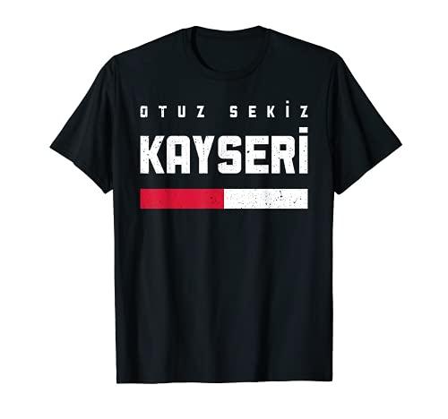 38 Kayseri Türkei Türkiye Melikgazi Talas Develi Yahyali T-Shirt