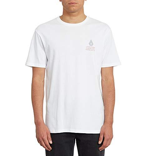 Volcom Radiation BSC Ss T-Shirt für Herren L weiß
