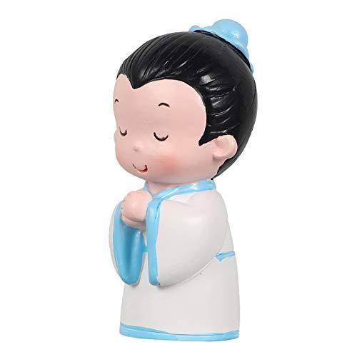 PRETYZOOM Figuras de Adorno de Pastel Chino Adorno de Cupcake en Forma de Estudiante Juguete para Nios Decoracin de Adorno de Pastel para Nios Favores de La Fiesta de Cumpleaos
