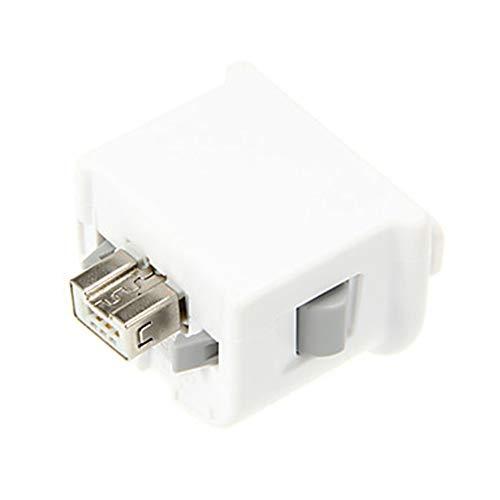spier Wii Motion Plus Adaptador, acelerador de sensor acelerador de inducción compatible con mando a distancia Motion Plus