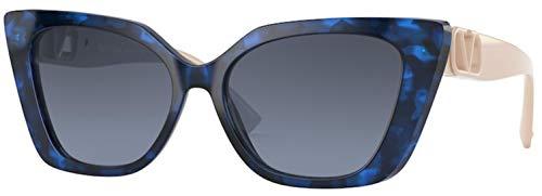 Valentino Gafas de sol VA4073 50318F HAVANA BLUE gafas de sol Mujer color Azul lente azul talla 56 mm