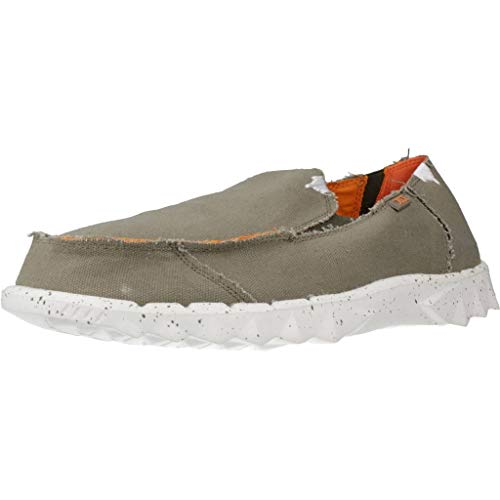 Dude Shoes Farty Uomo Funk Salvia Arancione UK8 / EU42