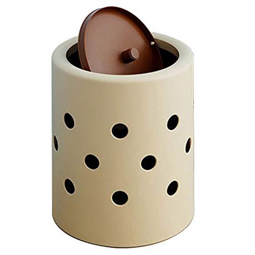 Afval Collector Prullenbak Met Swing Top Lip Dubbele Laag Eenvoudig Te Reinig Deodorant Opslag PP Kunststof, 10 Liter Garbage Separator