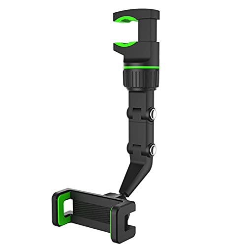 ASDFK Soporte para teléfono móvil Multifuncional, Soporte Universal para teléfono móvil con Espejo retrovisor, fácil instalación