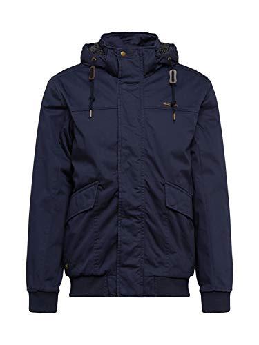 Ragwear Tariq Organic - Chaqueta de invierno para hombre, color azul marino azul marino L