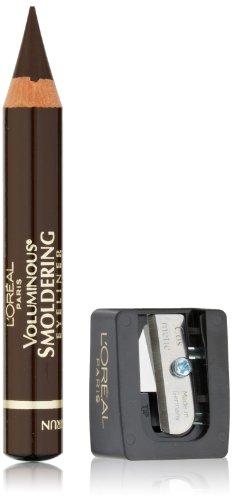 L'Oréal Paris Voluminous Smoldering Eyeliner, Brown, 0.087 oz.