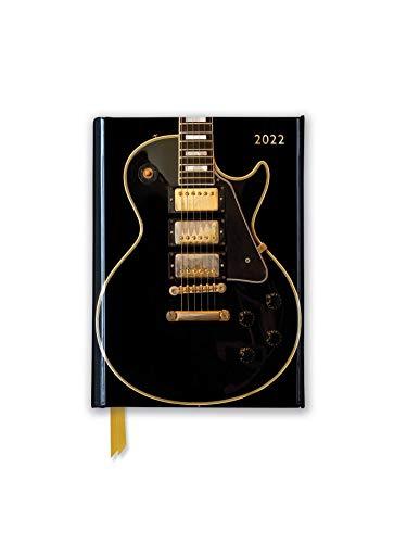 Gibson Les Paul Guitar – Schwarz – Taschenkalender 2022: Original Flame Tree Publishing-Pocket Diary [Taschenkalender]