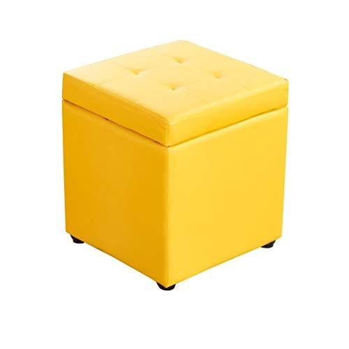 Yulan Kruk, voetenbankje, multifunctionele opbergruimte, kruk voor thuis, sofa, eenvoudig, kruk voor volwassenen, woonkamer, kleine bank