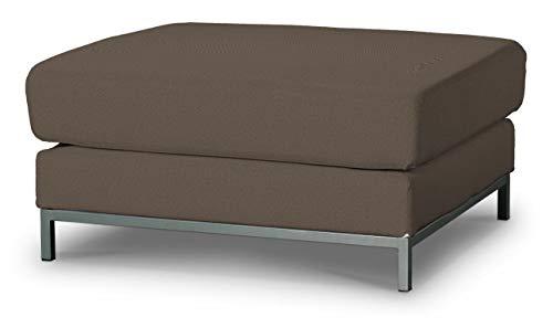 Dekoria Kramfors Hockerbezug Sofahusse passend für IKEA Modell Kramfors braun