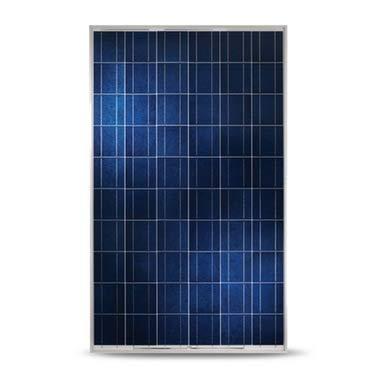 Yingli Solar 250W Poly SLV/WHT Solar Panel-YL...