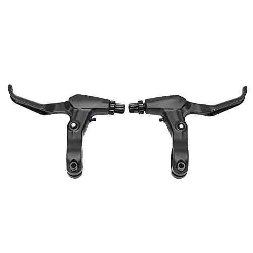 RiToEasysports 2pcs Bremshebel, Aluminiumlegierung Bremsgriff für Klapprad Fahrrad Mountainbike - Schwarz