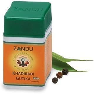 Zandu Khadiradi Gutika(Pack Of 12)