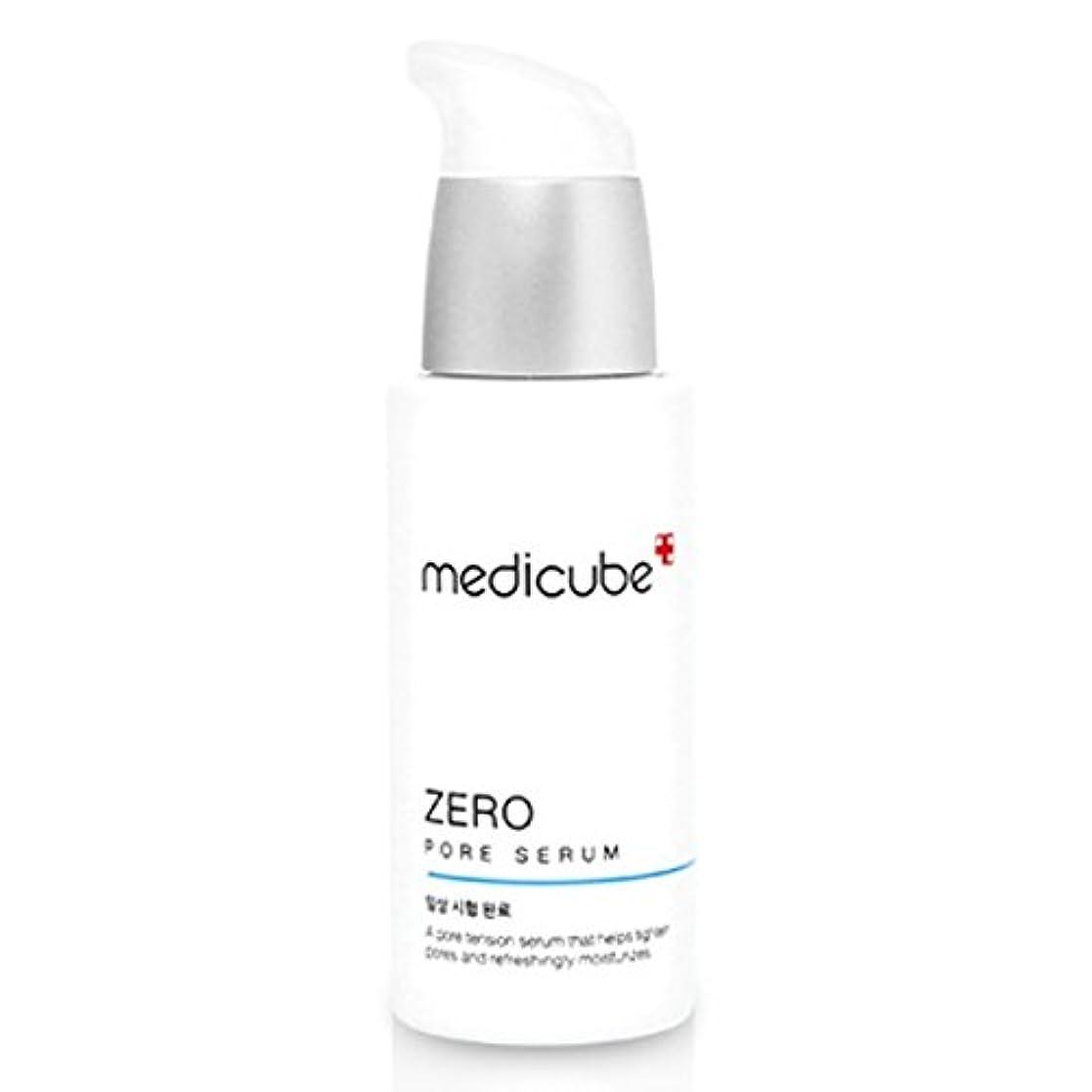 お茶正確さ電気陽性[Medicube メディキューブ] ゼロポアセラム 27ml / Zero Pore Serum 27ml [並行輸入品]