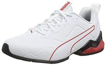 PUMA Cell Valiant SL Regular White Black High Risk Red Size US Men 8,5/Women 10 - EU 41